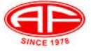Logo of Alu Fin powder coatings Mumbai