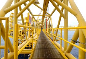 offshore-structure-yellow-metal-coating