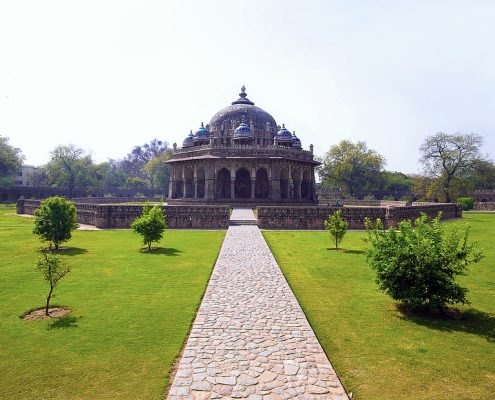 Isa Khan Tomb New Delhi India