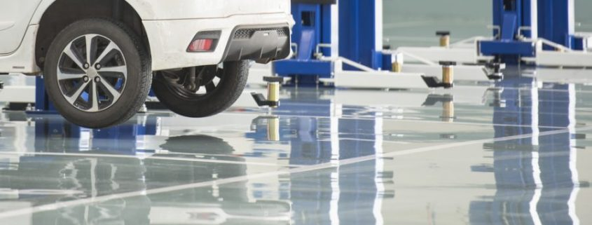 Epoxy-floor-car-industry