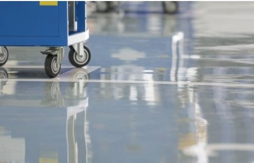 Epoxy-floor-coating-industrial-grey-shine